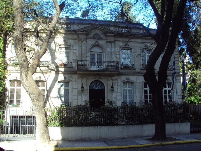 Residencia de la Sra Embajadora de Grecia