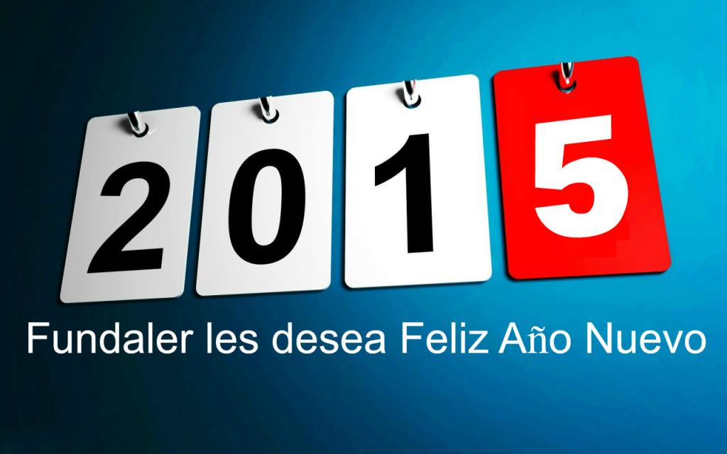 Fundaler les desea feliz año nuevo
