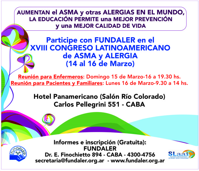 Congreso latinoamericano de asma y alergia
