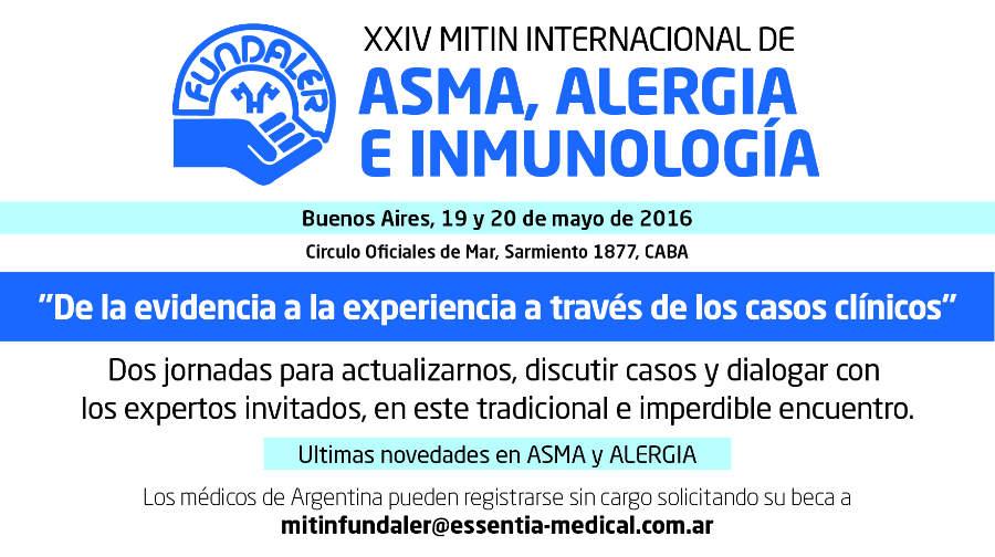 XXIV mitin internacional sobre asma alergia e inmunología