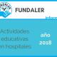 Actividades educativas en hospitales – año 2018