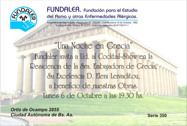 evento anual Fundaler