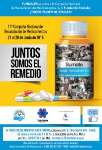 FUNDALER Campaña Medicamentos 2015