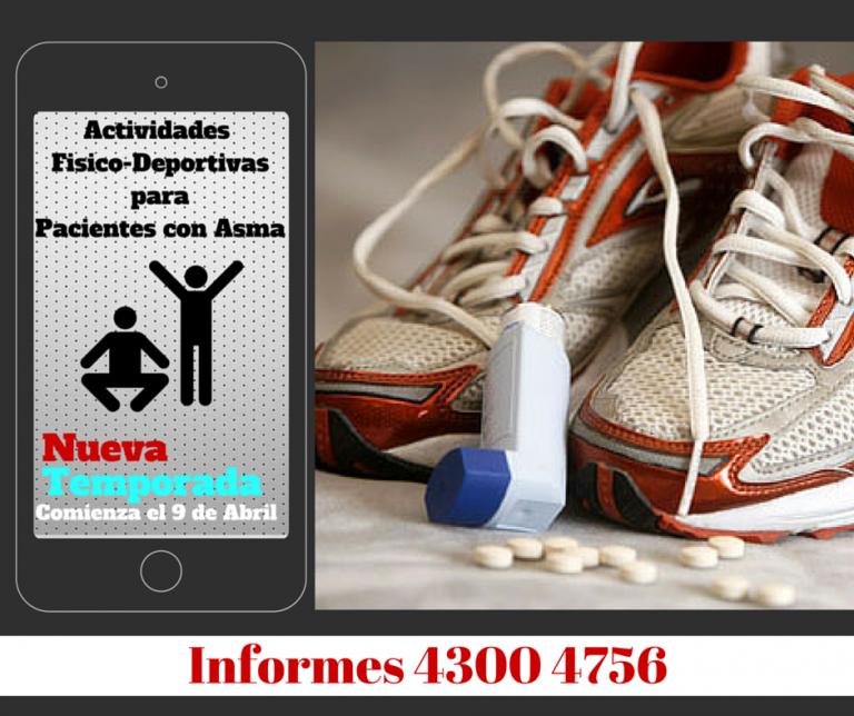 actividades físico-deportivas para pacientes con asma