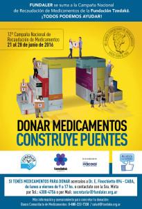 Fundaler se suma a la Campaña Nacional de Recaudación de Medicamentos de la Fundación Tzedaká