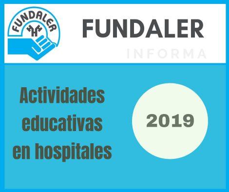 actividades educativas en hospitales 2019