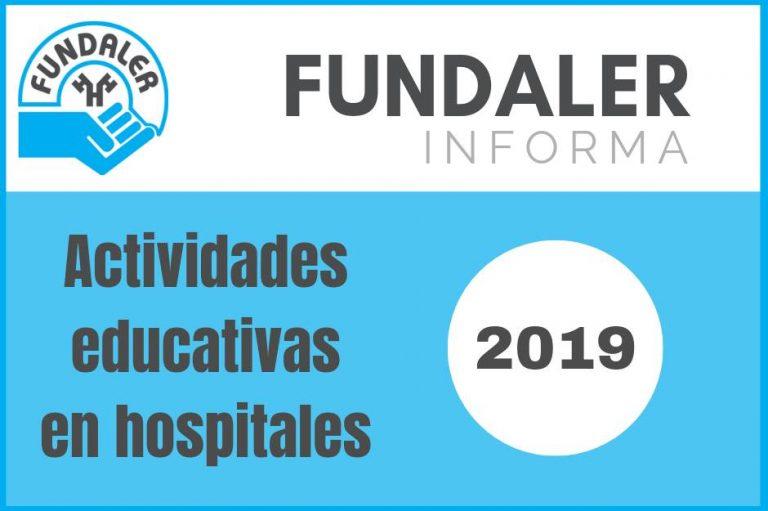 Actividades Educativas en hospitales - 2019
