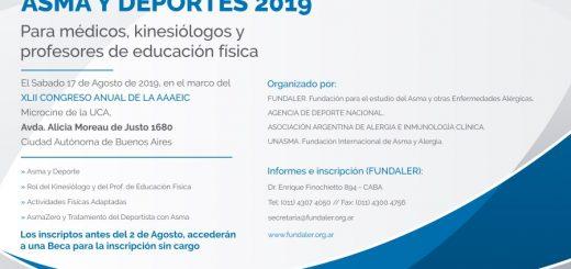XXI Jornadas de Asma y Deportes 2019