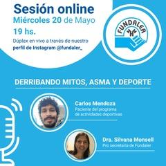 Derribando mitos - sesion online sobre asma y deportes