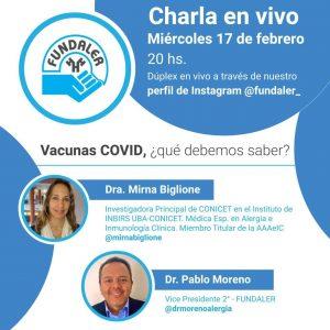 Vacunas COVID ¿Qué debemos saber?