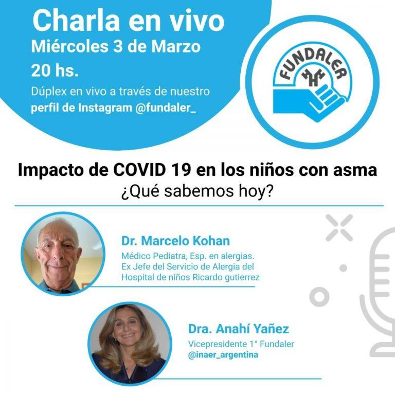 Impacto del COVID en los niños con asma